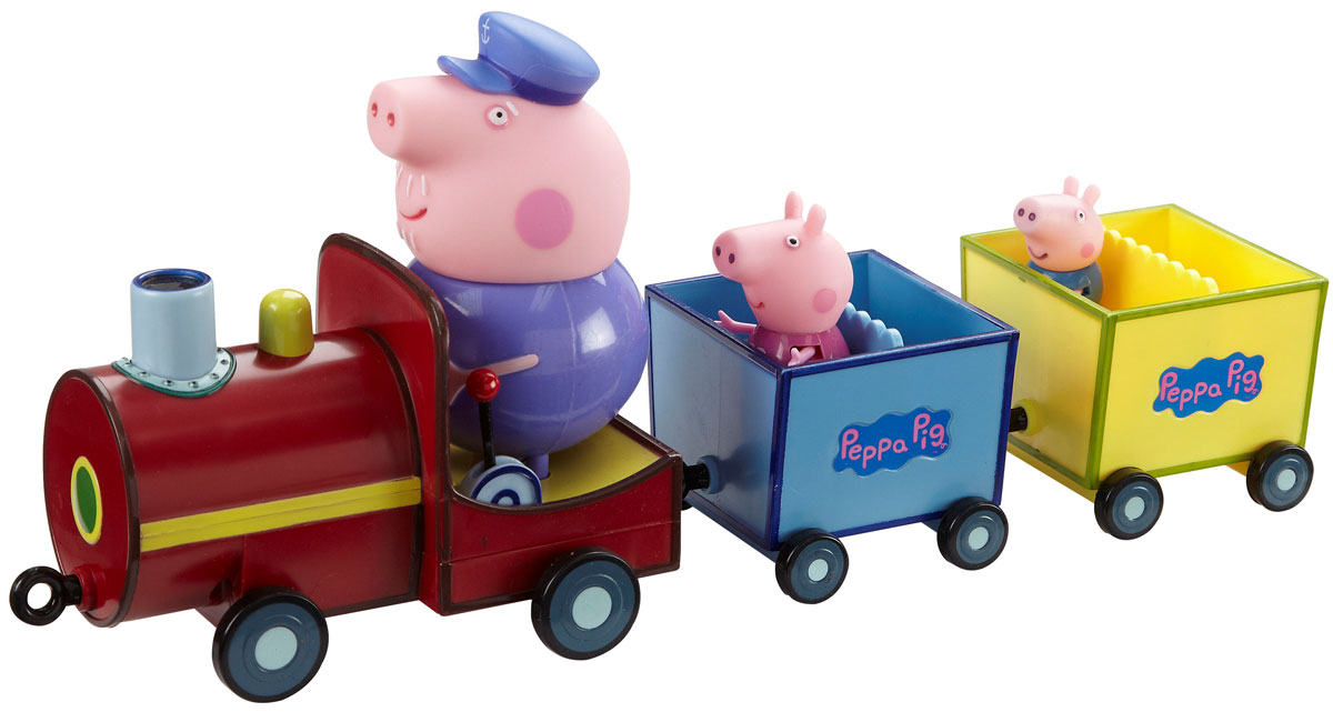 """Игровой набор Peppa Pig """"Паровозик дедушки Пеппы"""""""