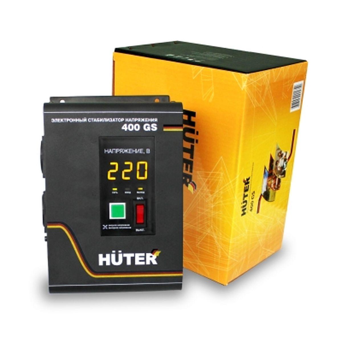 все цены на Стабилизатор напряжения Huter 400GS онлайн