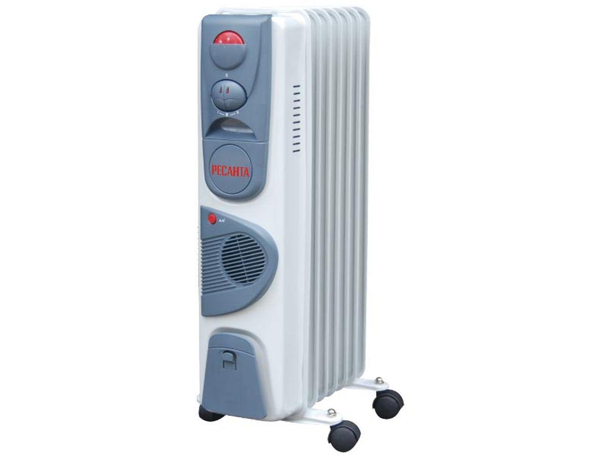 Ресанта ОМ-7НВ (1,9 кВт) напольный радиатор ресанта ом 5н 1 квт напольный радиатор