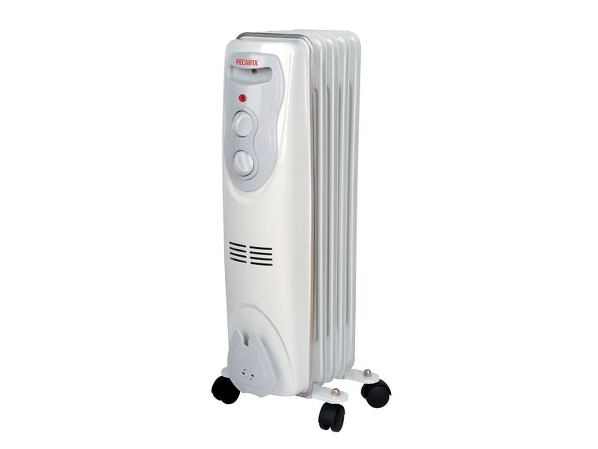 Ресанта ОМ-5Н (1 кВт) напольный радиатор ресанта ом 5н 1 квт напольный радиатор