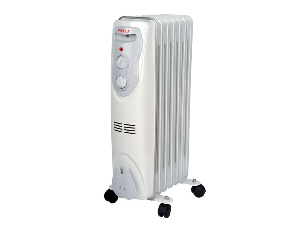 Ресанта ОМ-7Н (1,5 кВт) напольный радиатор ресанта ом 5н 1 квт напольный радиатор