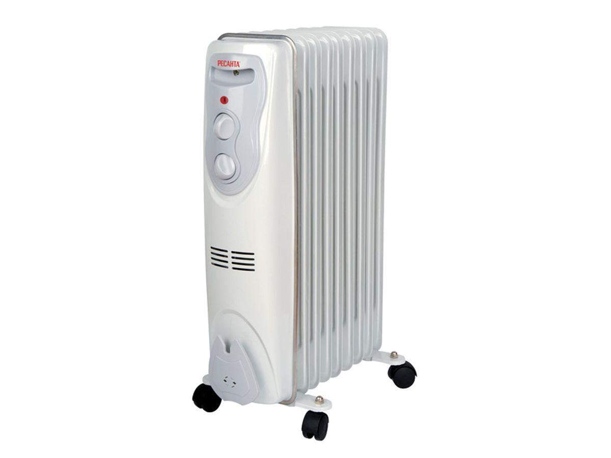 Ресанта ОМ-9Н (2 кВт) напольный радиатор ресанта ом 5н 1 квт напольный радиатор