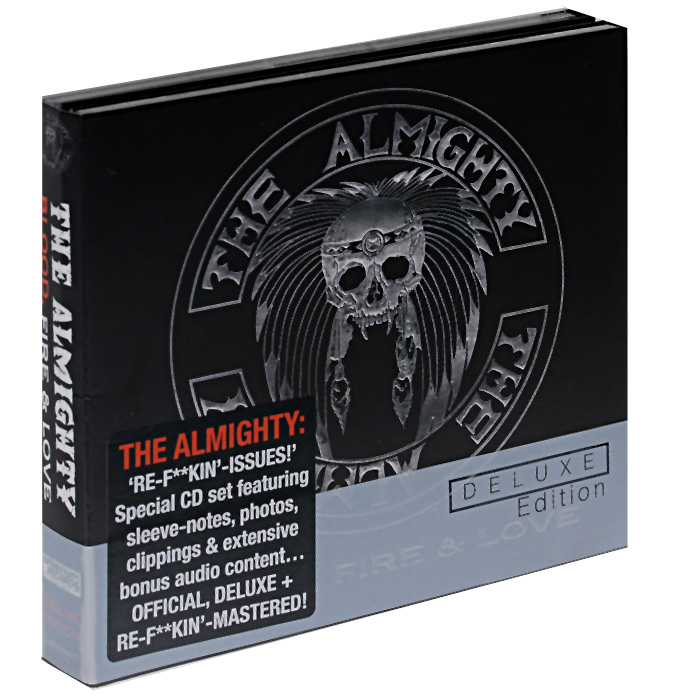 The Almighty The Almighty. Blood, Fire & Love. Deluxe Edition (3 CD) andrew lloyd webber love never dies deluxe edition 2 cd dvd