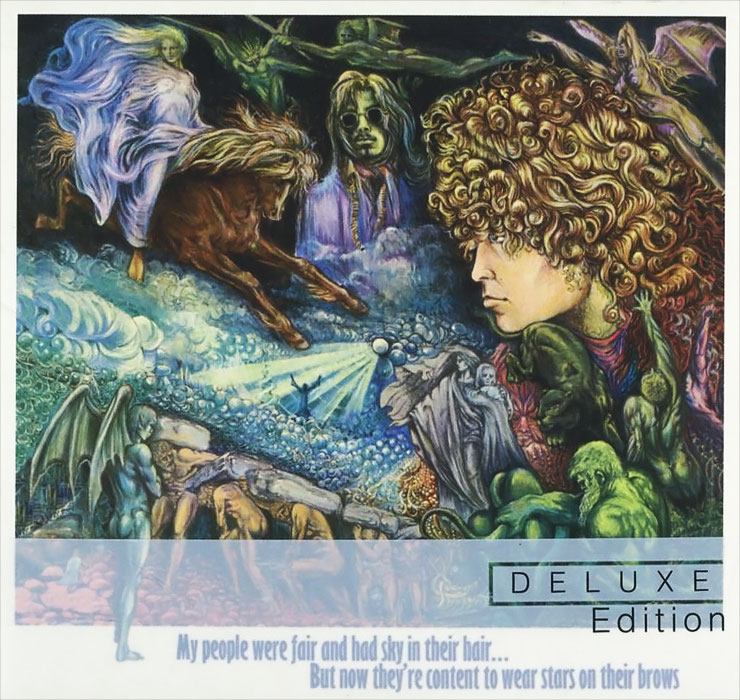 Tyrannosaurus Rex Tyrannosaurus Rex. My People Were Fair And Had Sky In Their Hair… But Now They're Content To Wear Stars On Their Brows. Deluxe Edition (2 CD) t rex t rex my people were fair 2 lp