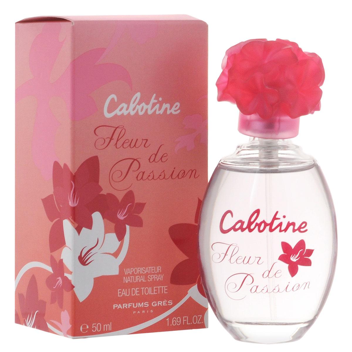 Gres Туалетная вода Cabotine Fleur De Passion, женская, 50 мл gres cabotine fleur d'ivoire