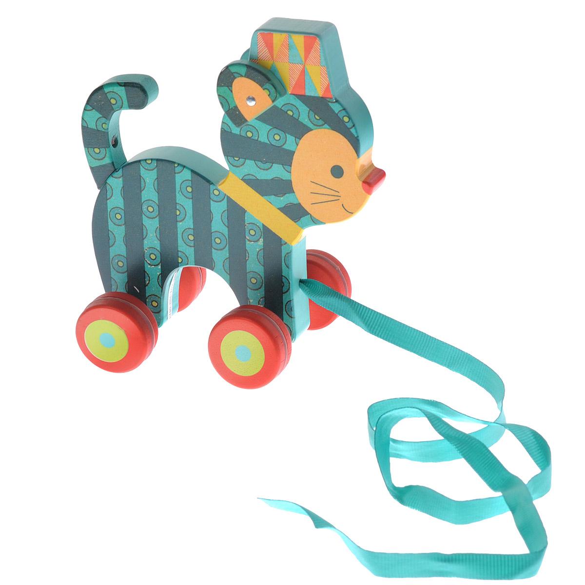 Djeco Деревянная игрушка-каталка