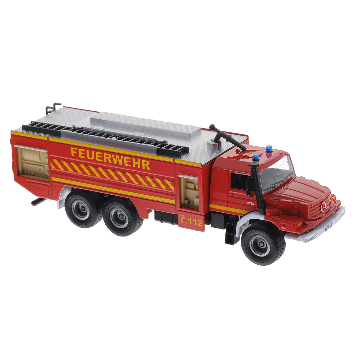 Siku Пожарная машина Mercedes-Benz Zetros пожарная машина siku