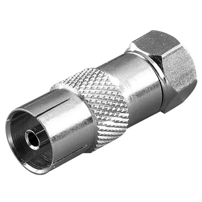 Vivanco STD FKB-N адаптер F (штекер)/антенный разъем vivanco 36751 black