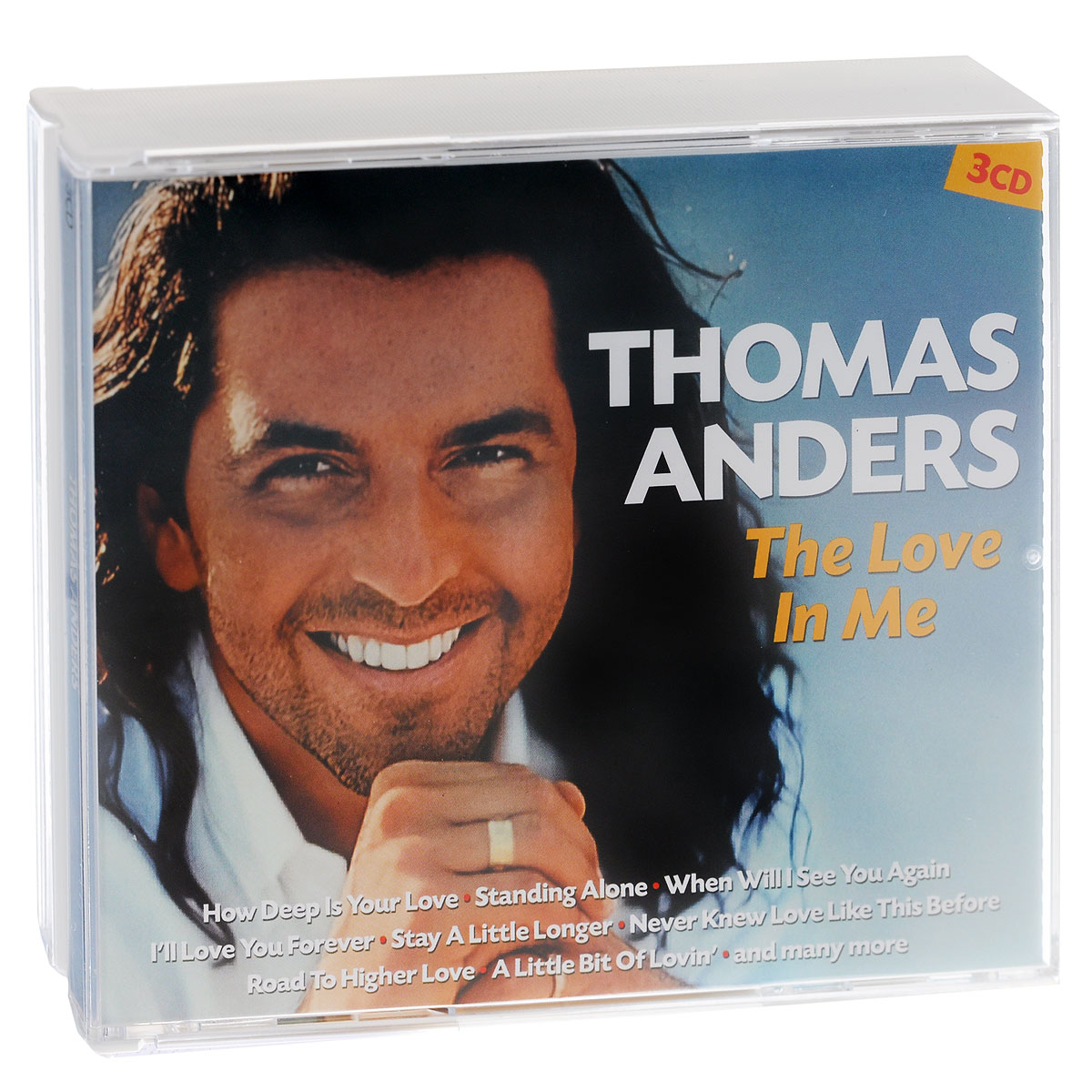 Томас Андерс Thomas Anders. The Love In Me (3 CD) стоимость