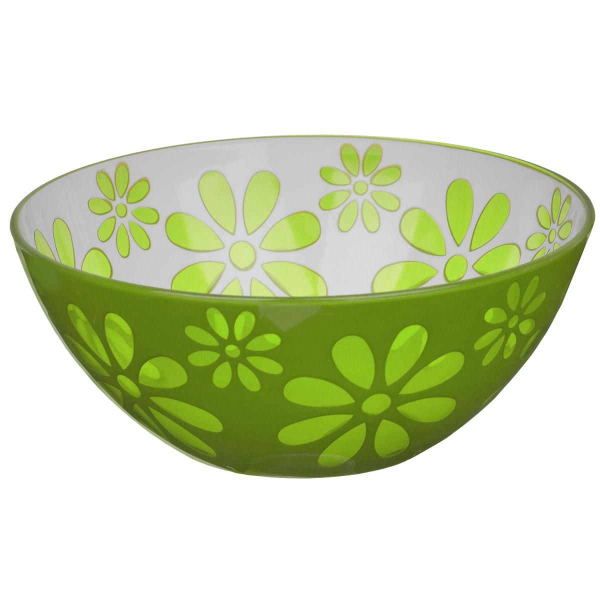 Чаша Альтернатива Соблазн, цвет: зеленый, 1,7 л чаша альтернатива соблазн цвет красный 1 7 л