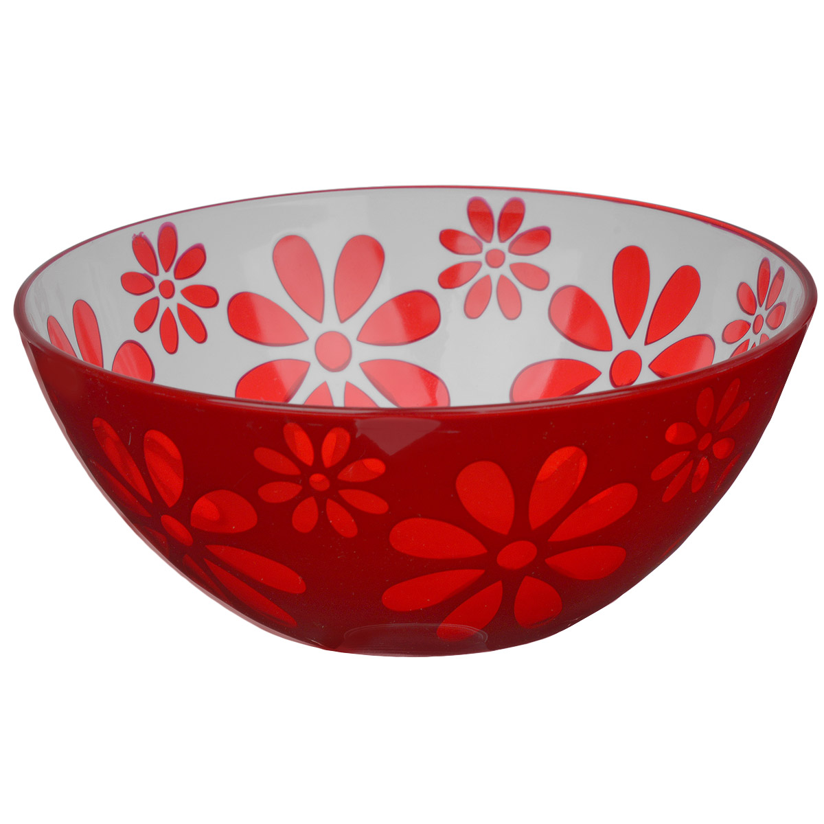 Чаша Альтернатива Соблазн, цвет: красный, 1,7 л чаша альтернатива соблазн цвет красный 1 7 л