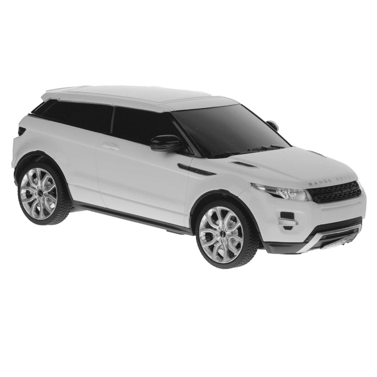 Rastar Радиоуправляемая модель Range Rover Evoque цвет белый масштаб 1:24 rastar радиоуправляемая модель range rover sport цвет серебристый масштаб 1 14