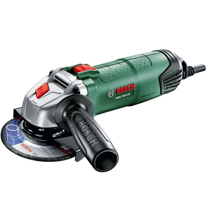 цена на Угловая шлифмашина Bosch PWS 750-115 (06033A2420)
