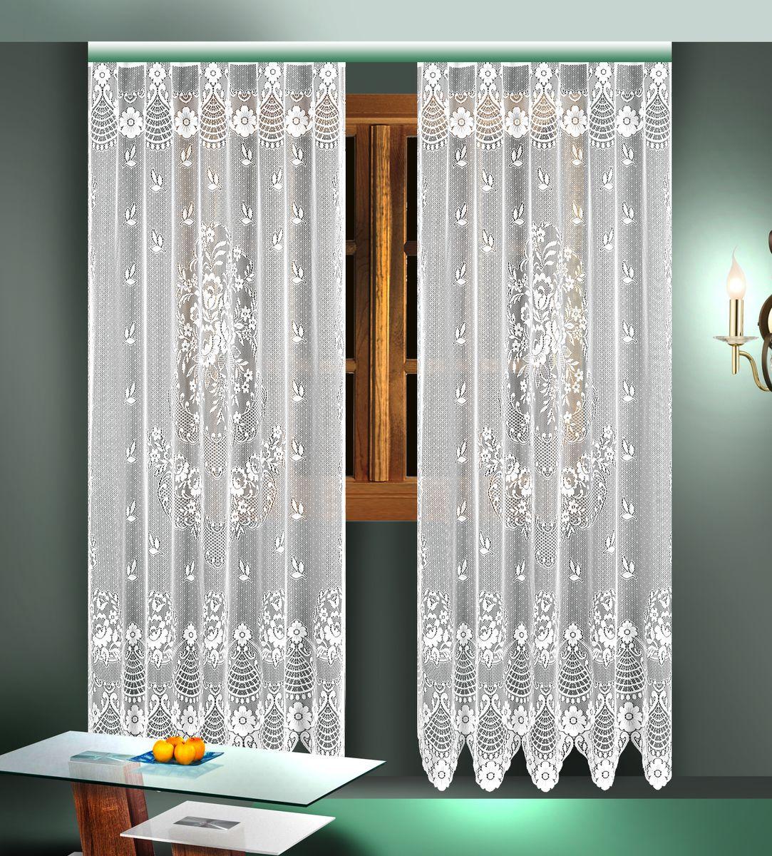 Комплект гардин Zlata Korunka, цвет: белый, высота 245 см. 88824 комплект гардин wisanhref