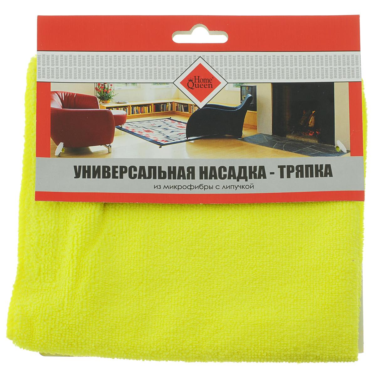 Насадка-тряпка для швабры Home Queen, с липучкой, универсальная, 38 х 40 см сменная тряпка для швабры baojiajie p3