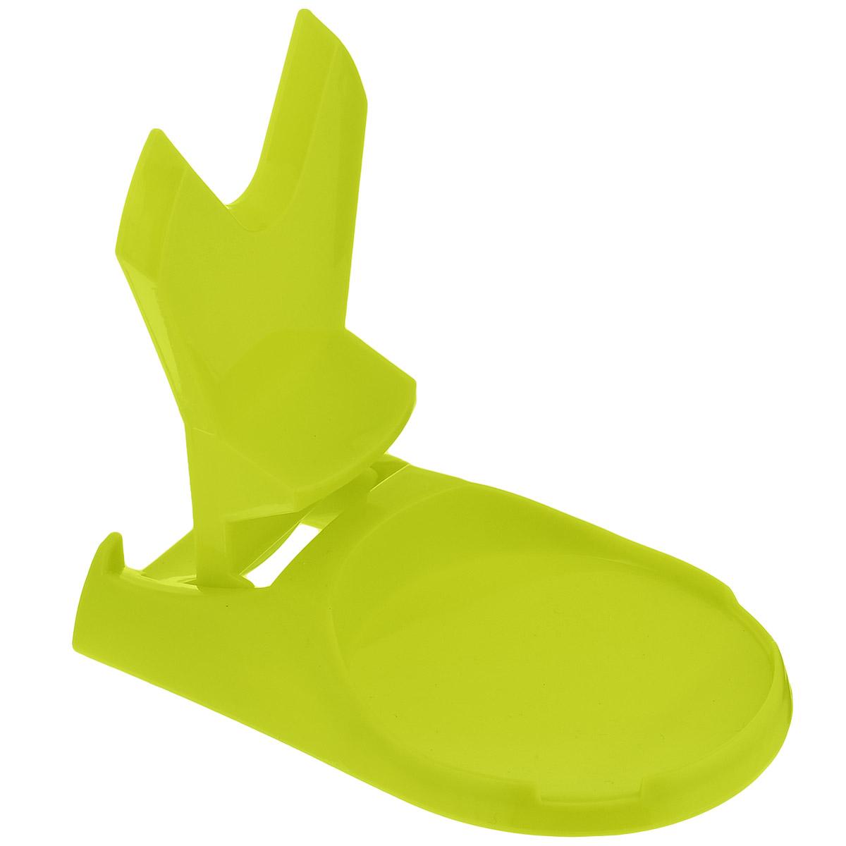 """Подставка для крышки и ложки Bradex """"Помогайка"""", цвет: зеленый"""