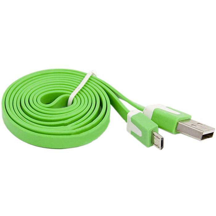Liberty Project Micro-USB дата-кабель плоский узкий, Green цена