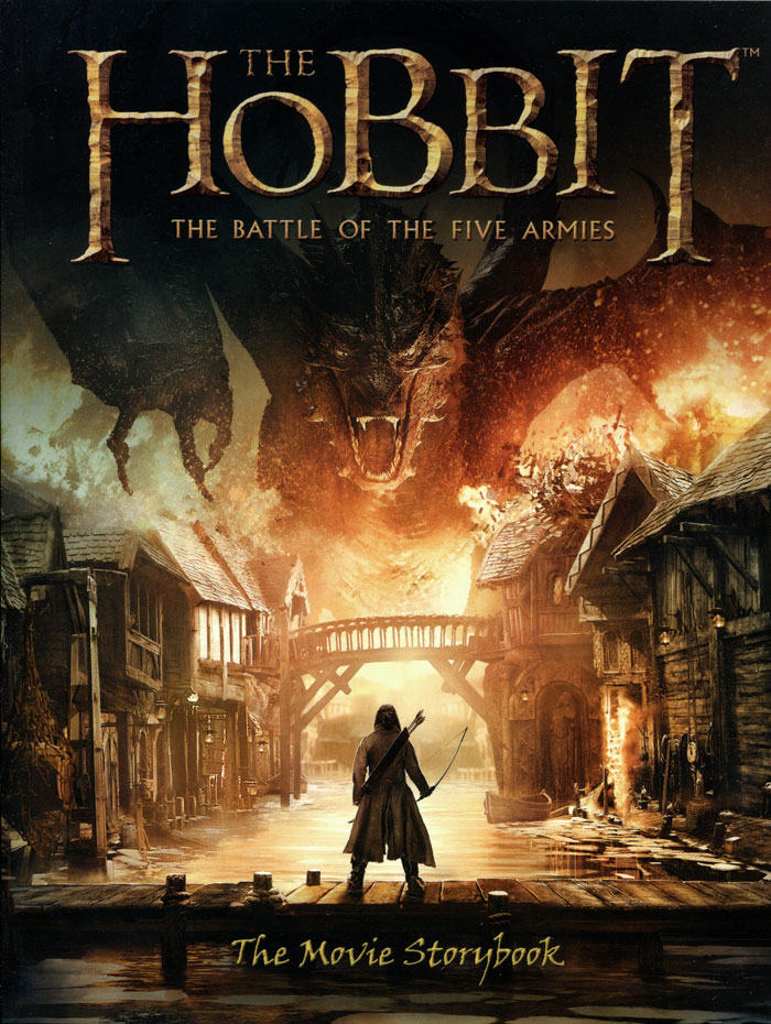 The Hobbit: The Battle of the Five Armies: The Movie Storybook the hobbit