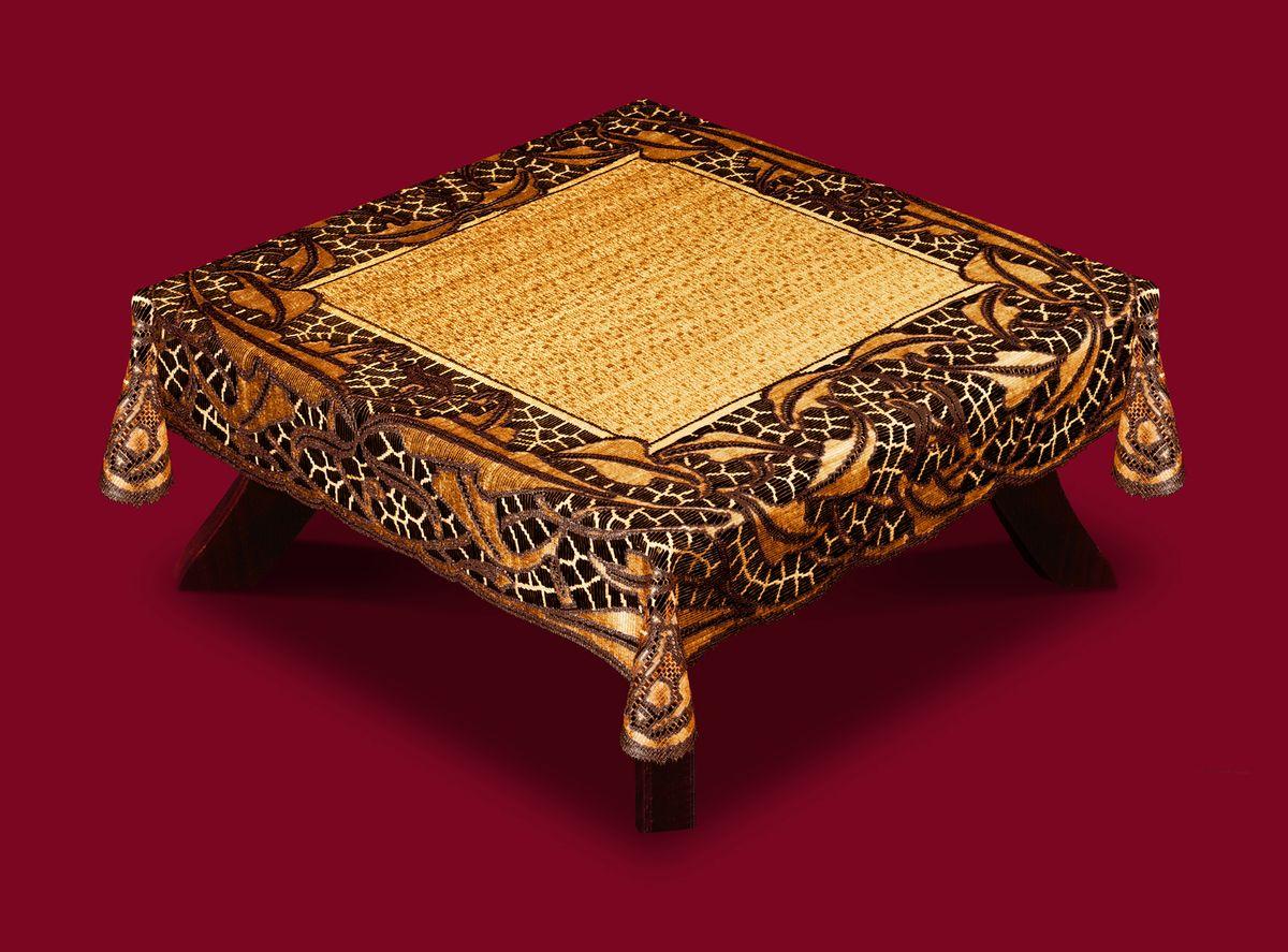 Скатерть Haft, квадратная, цвет: кофейный, коричневый, 100 x 100 см. 50912-100 скатерть haft квадратная цвет ванильно оливковый 120 x 120 см 50912 100