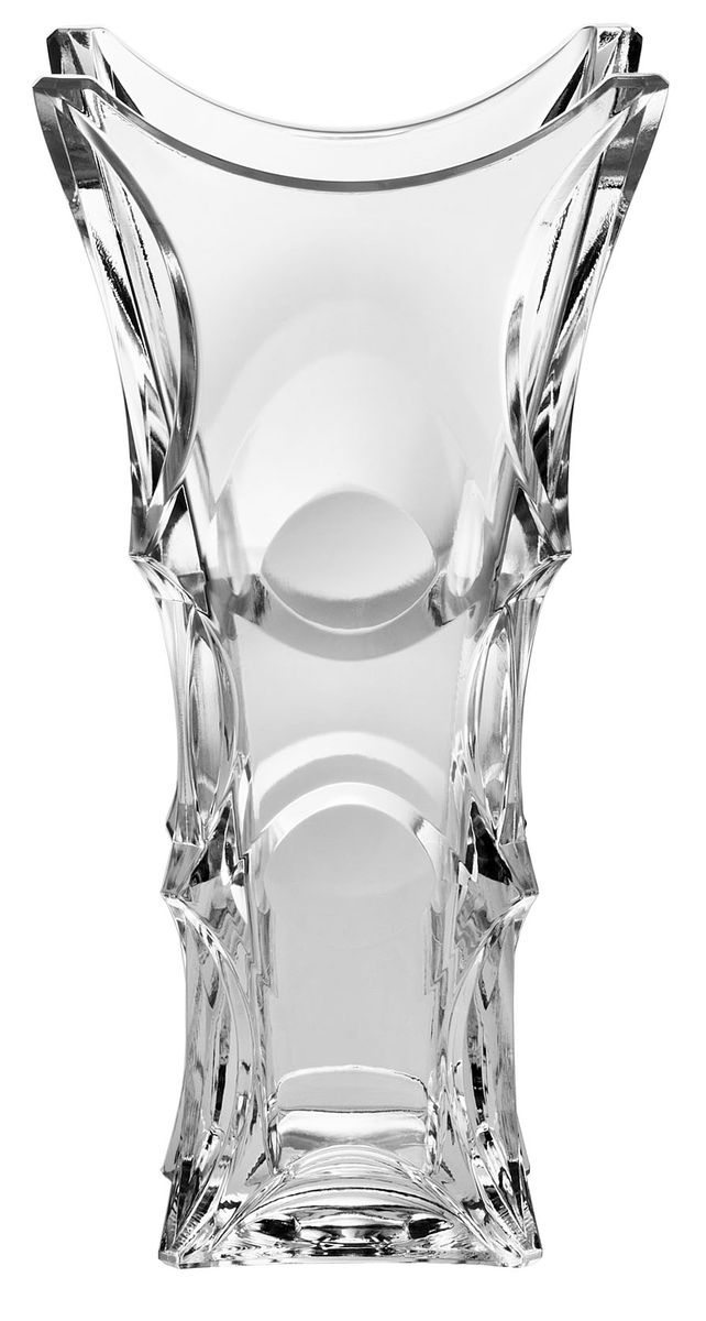 Ваза Crystal Bohemia X-Lady, высота 30 см салатник crystal bohemia x lady 29 х 29 см