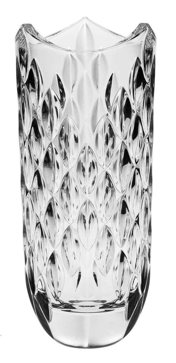 Ваза Crystal Bohemia, высота 33 см ваза 12 см crystal bohemia