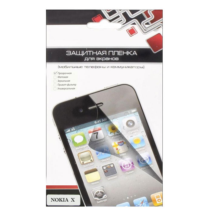 Liberty Project защитная пленка для Nokia X, прозрачная цена и фото