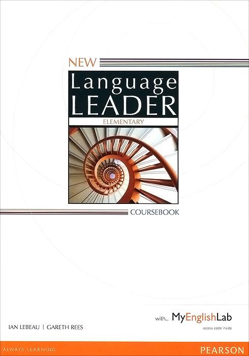 New Language Leader: Elementary: Coursebook with MyEnglishLab study skills in english аудиокнига cd