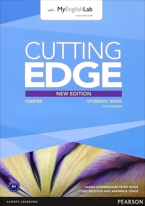 Cutting Edge: Starter: Student's Book with MyEnglishLab (+ DVD-ROM) цена