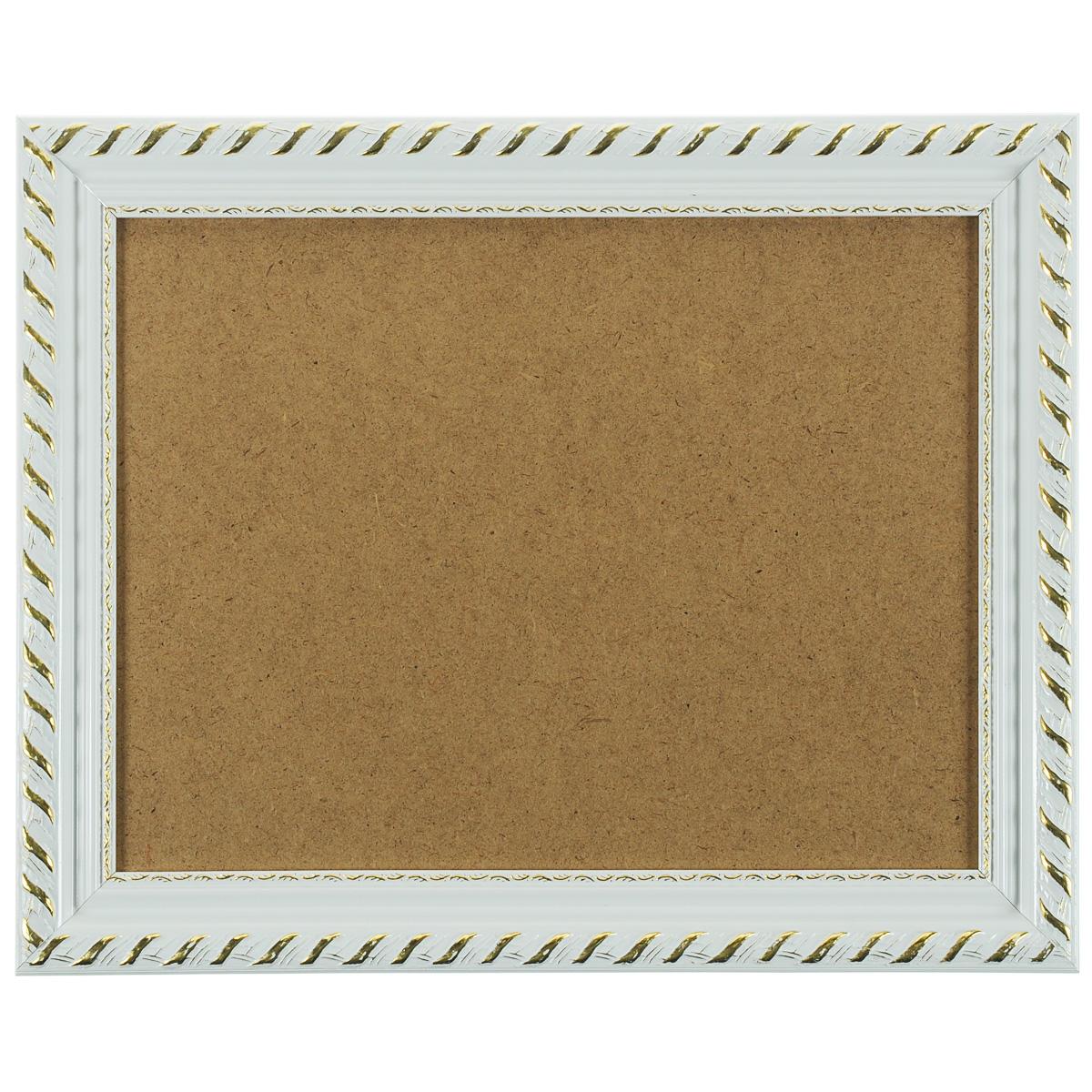 """Багетная рама """"Kleopatra"""", цвет: белый, 30 х 40 см 1595-BL"""