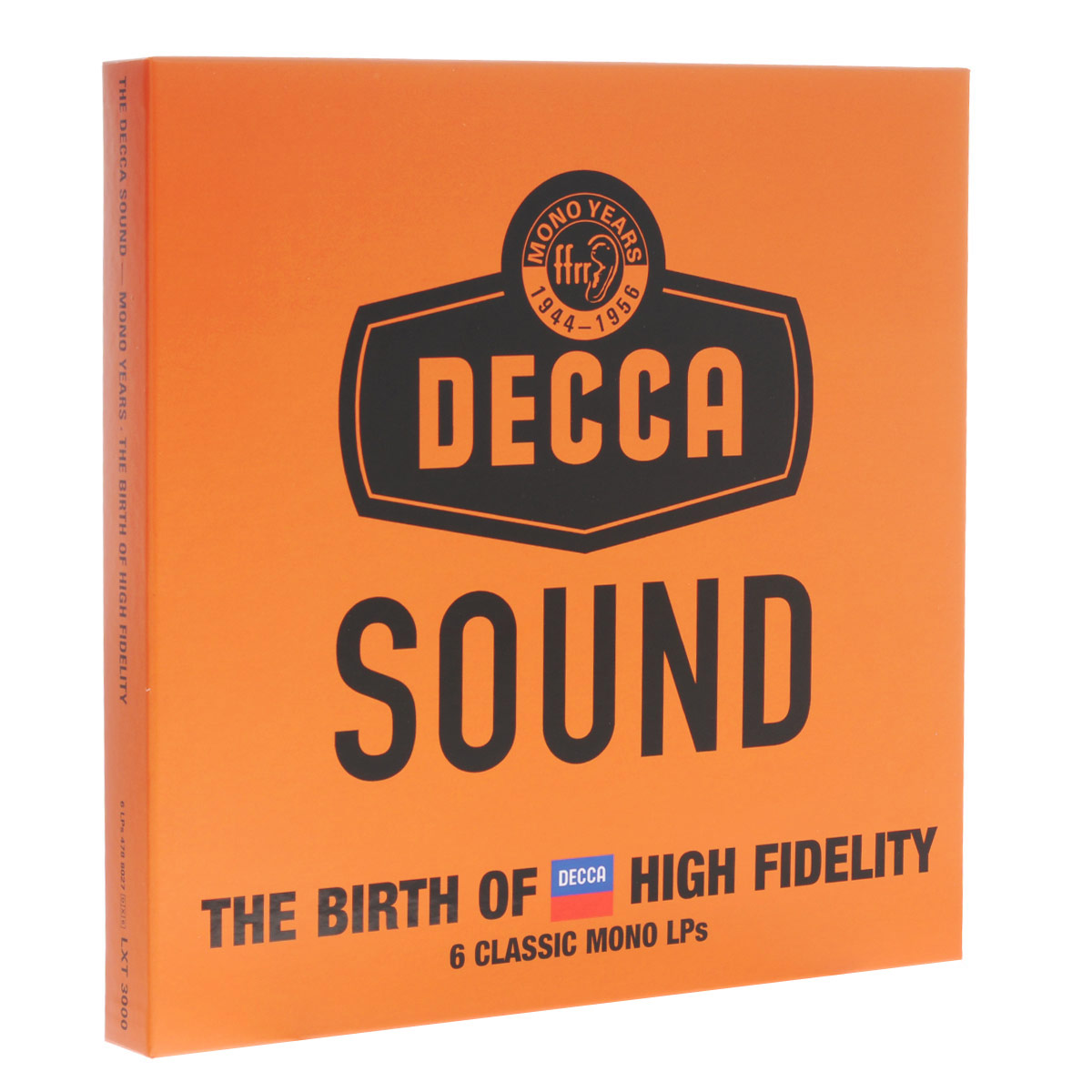The Decca Sound - Mono Years. The Birth Of High Fidelity (Limited Edition) (6 LP)