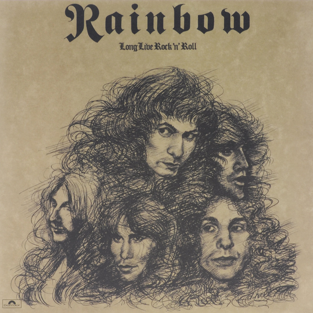 Rainbow Rainbow. Long Live Rock 'N' Roll (LP) adiors side parting long colormix side braid synthetic wig