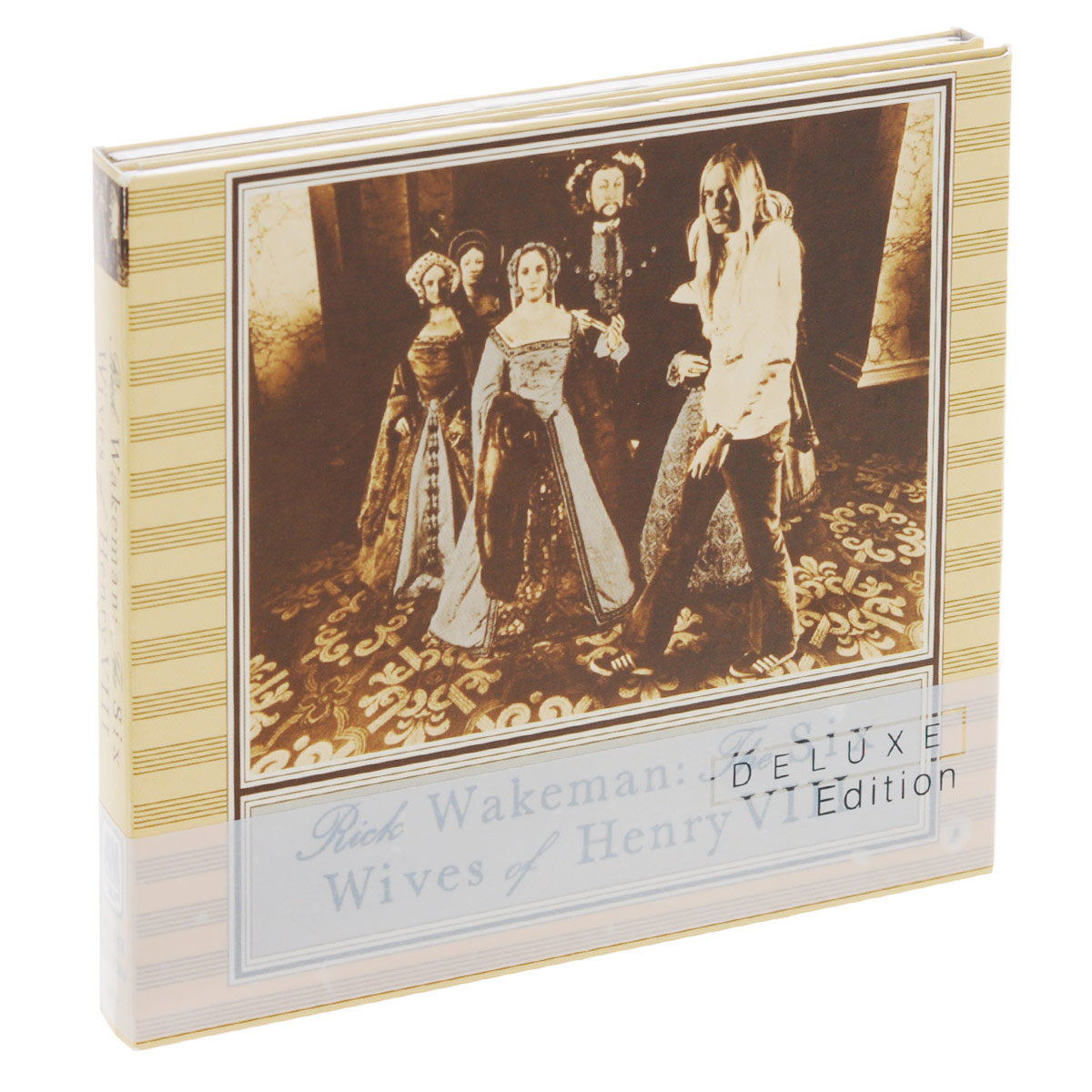 Фото - Рик Уэйкман Rick Wakeman. The Six Wives Of Henry VIII (Deluxe Edition) (CD + DVD) cd led zeppelin ii deluxe edition