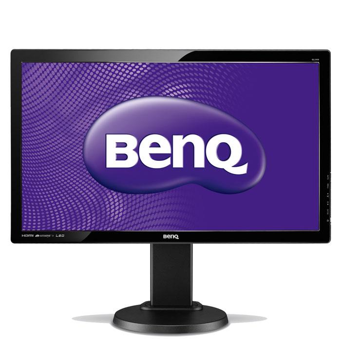 Монитор BenQ GL2450HT, Glossy Black benq gl2450ht