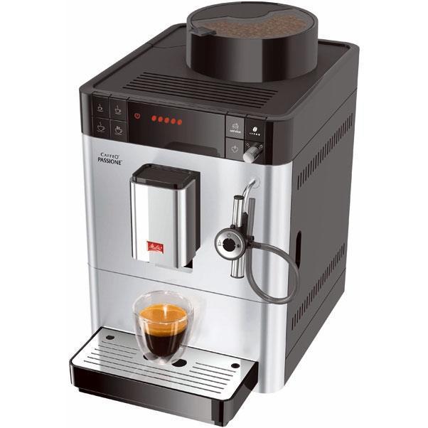 Кофемашина Melitta Caffeo Passione F530-101, Silver (21023)