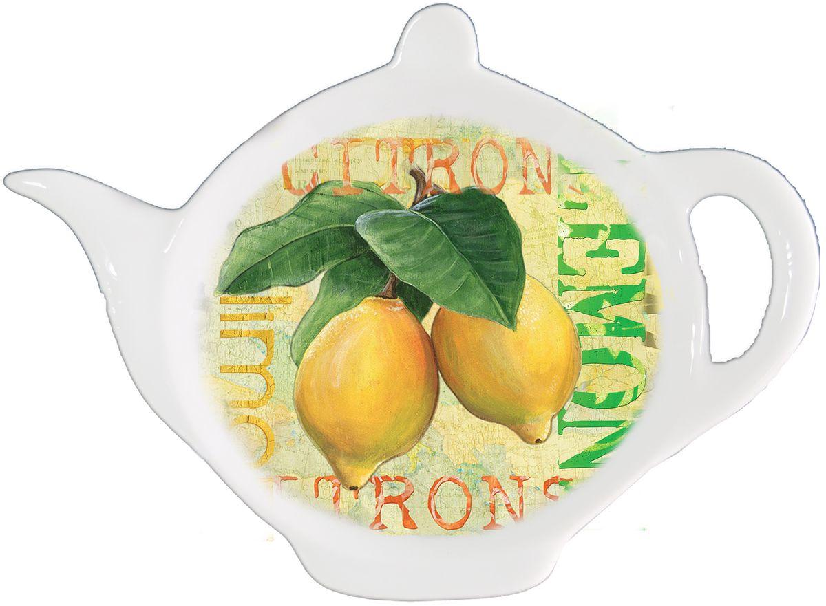 Подставка для чайных пакетиков Gift'n'Home Лимон подставка для чайных пакетиков loraine 12 4 х 9 см 2 шт