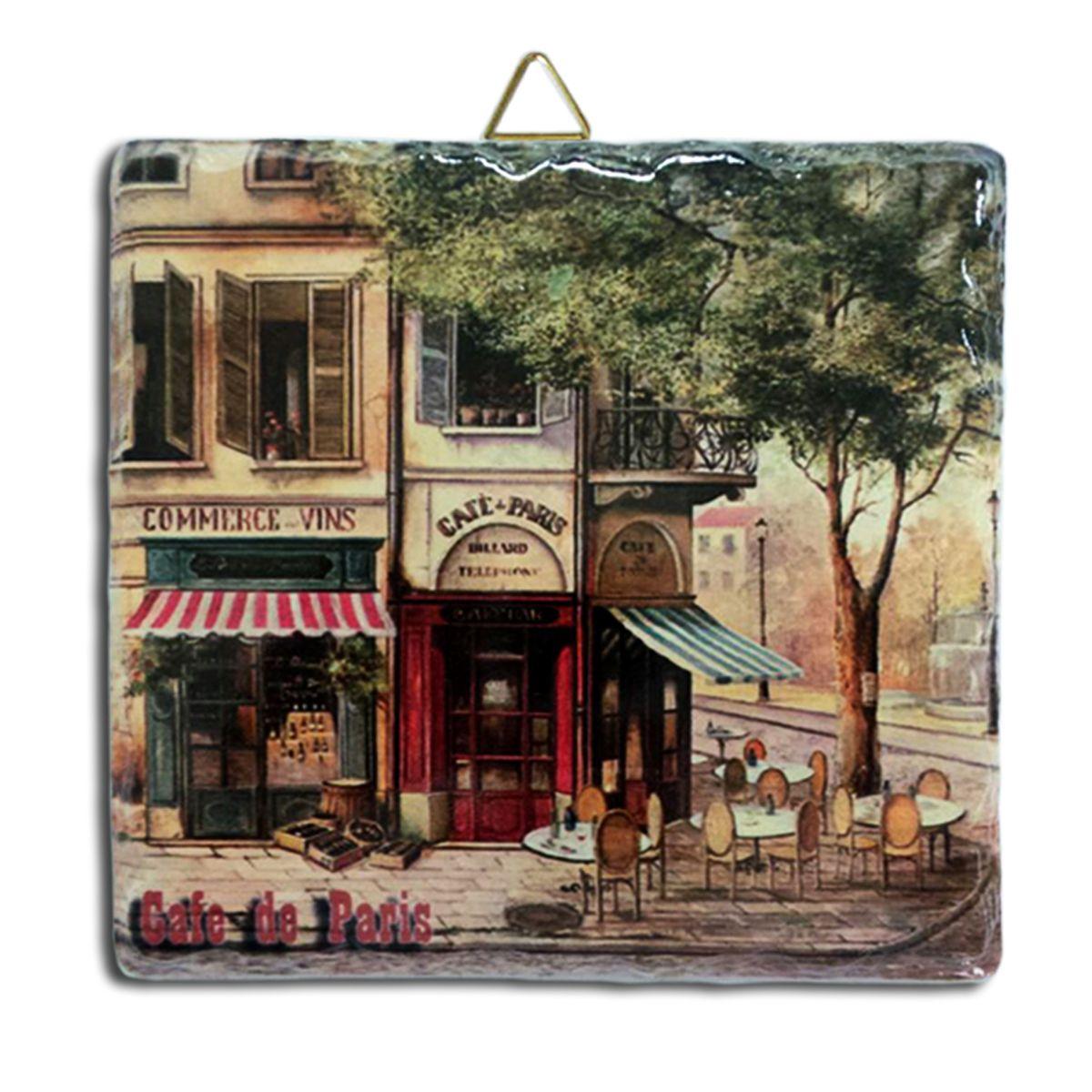 "Подставка под горячее Gift'n'Home ""Парижское кафе"", 16 см х 16 см"
