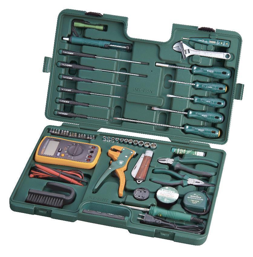 Набор инструментов SATA 53пр. для электротехнических работ 09535