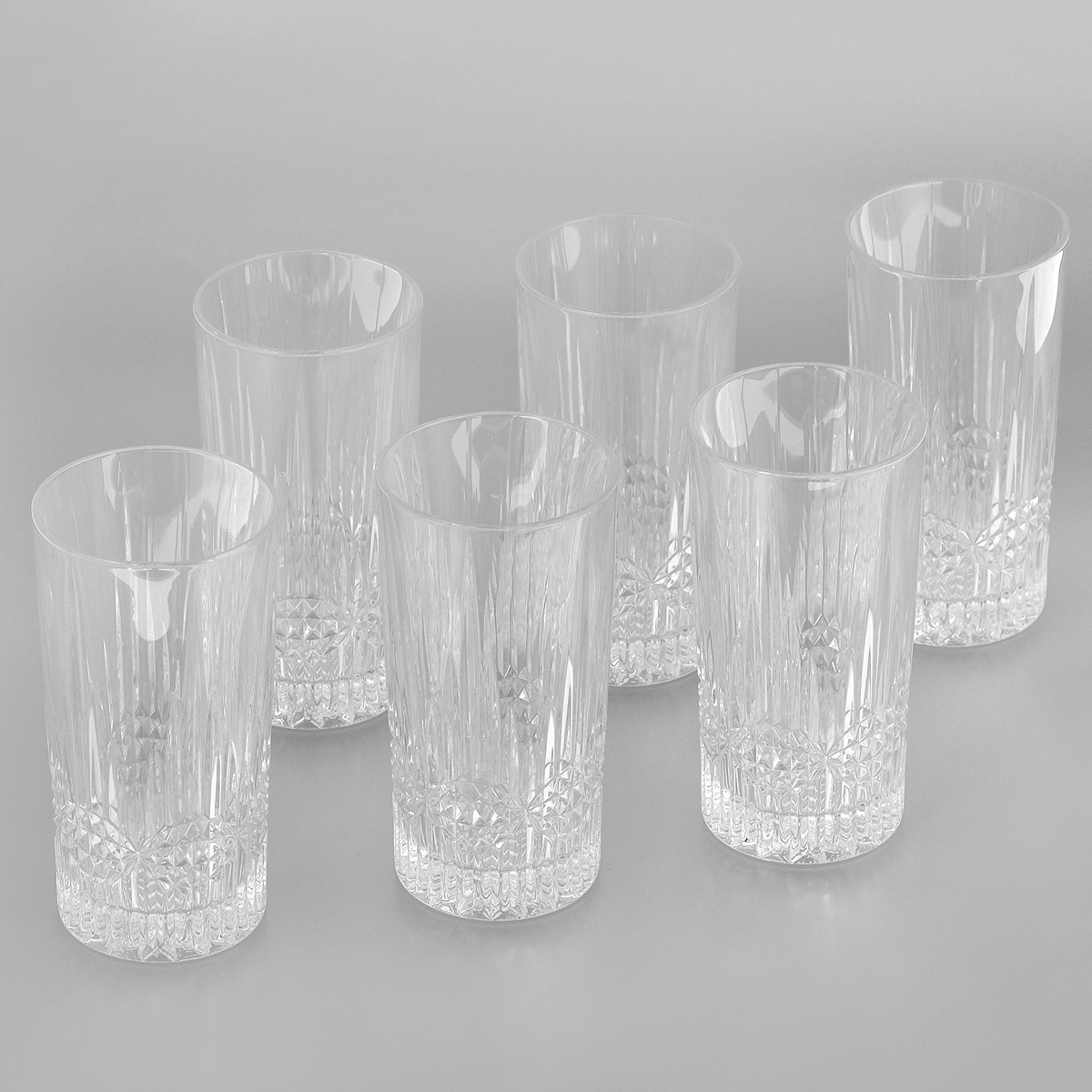 Набор стаканов для воды Crystal Bohemia