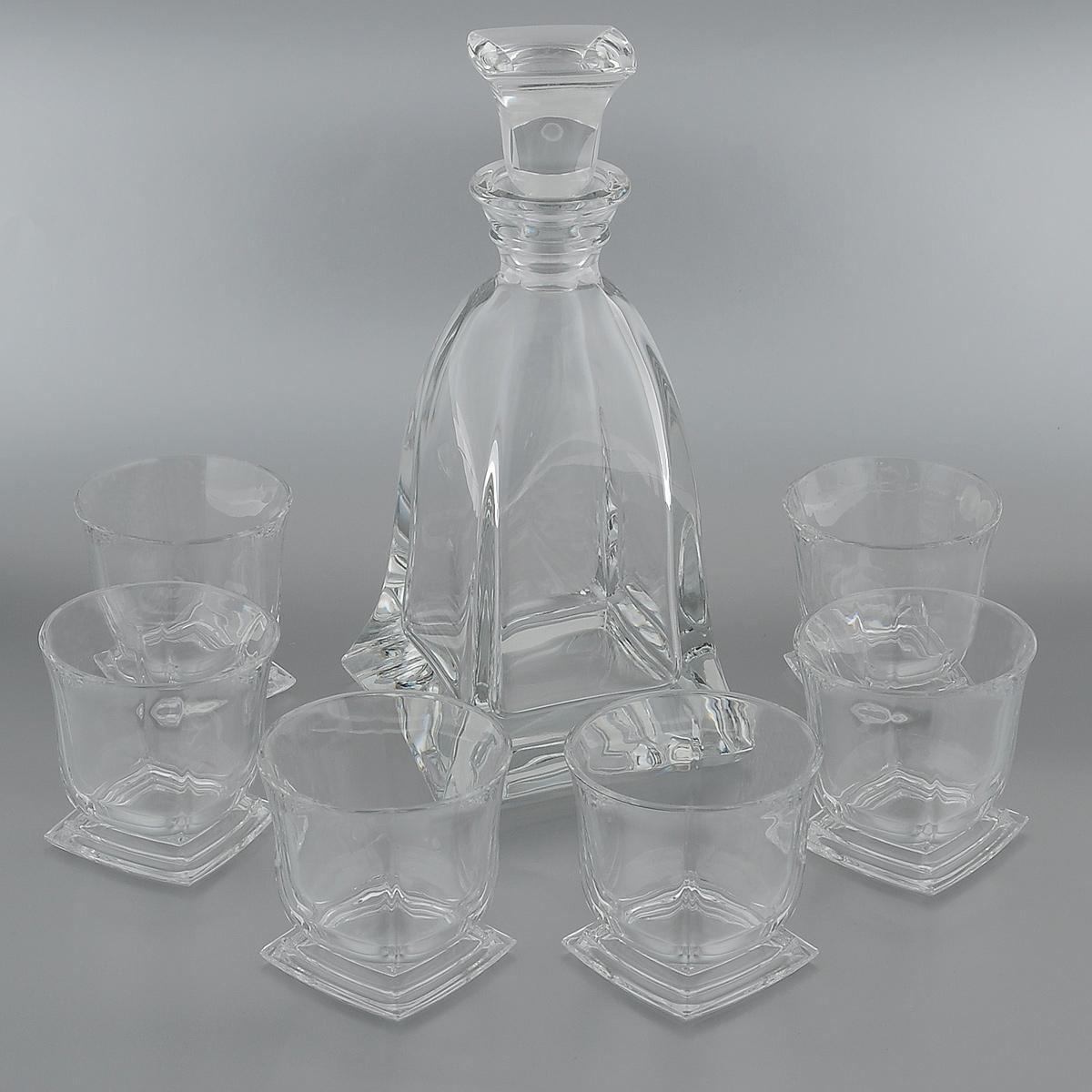 """<b>Набор для виски</b> """"Crystal Bohemia"""", <b>7</b> предметов. 990/99999/9 ..."""