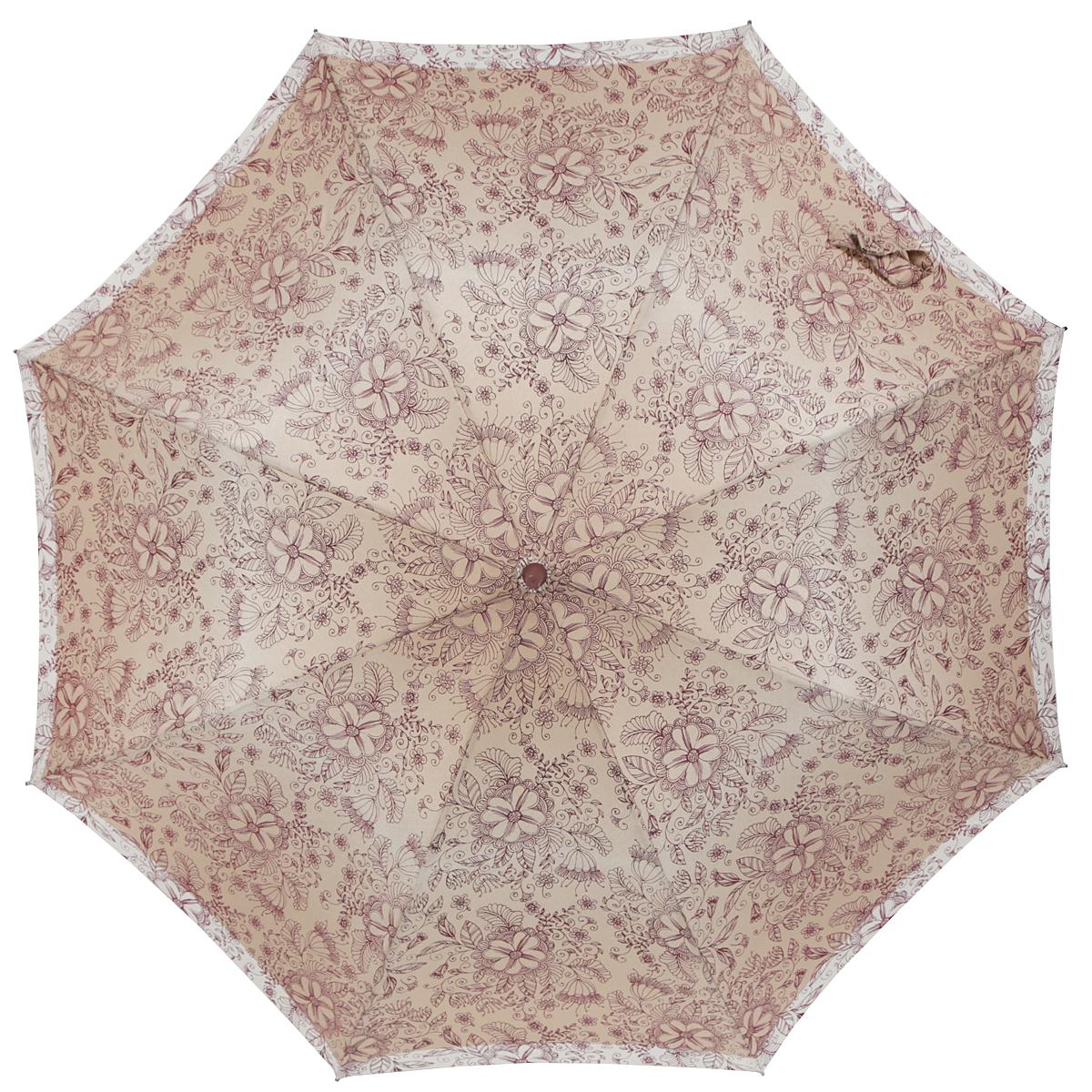 Фото - Зонт Zest 21629-1097, светло-коричневый ремень женский fancy s bag цвет светло коричневый fb 1226 06 размер 105