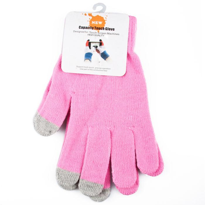 Liberty Project, Pink перчатки для сенсорных экранов (размер M) теплые перчатки для сенсорных дисплеев liberty project олени s violet r0000503