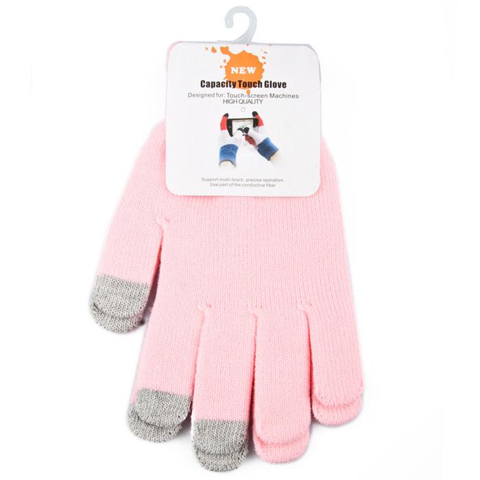 Liberty Project, Light Pink перчатки для сенсорных экранов (размер M) теплые перчатки для сенсорных дисплеев liberty project олени s violet r0000503