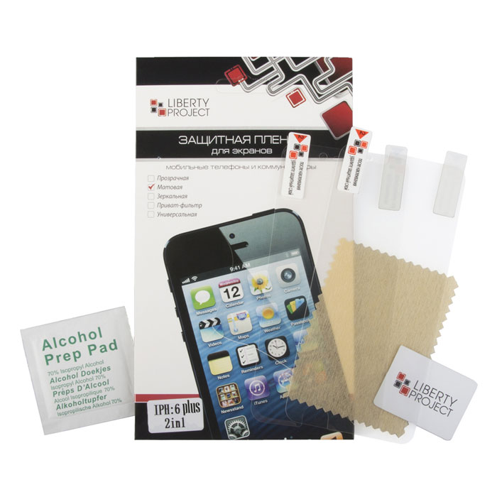 Liberty Project защитная пленка дляiPhone 6 Plus, двойная матовая стоимость