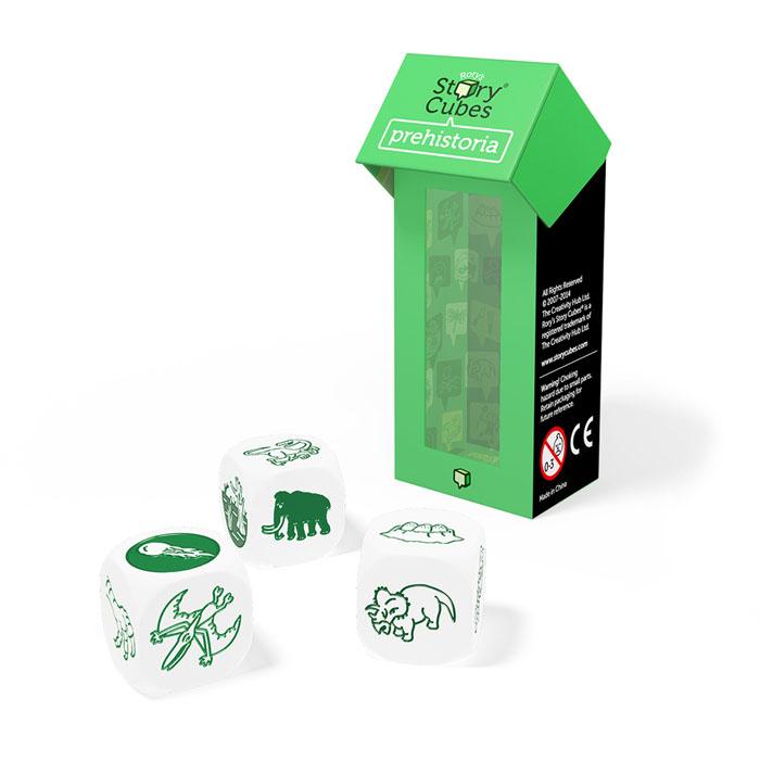 Story Cubes Игральные кубики Динозавры дополнительный набор rory s story cubes дополнительный набор динозавры кубики историй