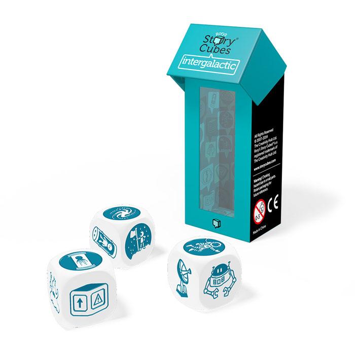 Игральные кубики Story Cubes Космос, дополнительный набор rory s story cubes дополнительный набор динозавры кубики историй