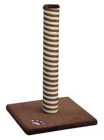 Когтеточка Fauna Classic, сизаль, цвет: коричневый, 40 см х 40 см х 63 см мебель 63
