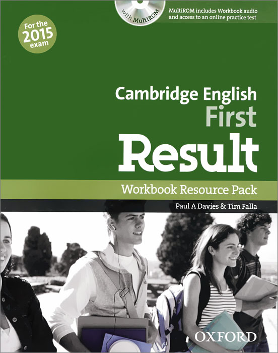 Cambridge English: First Result: Workbook Resource Pack: Level B2 (+ CD-ROM) gold first first certificate in english coursebook cd rom