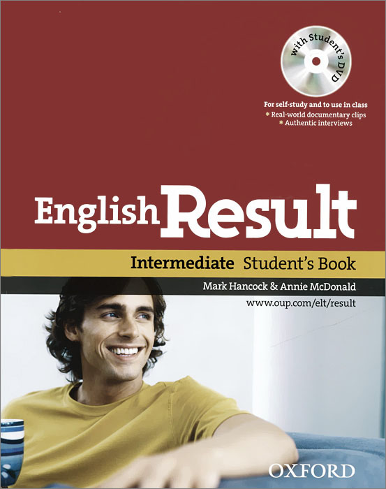 English Result: Intermediate: Student's Book (+ DVD-ROM) outcomes intermediate student s book