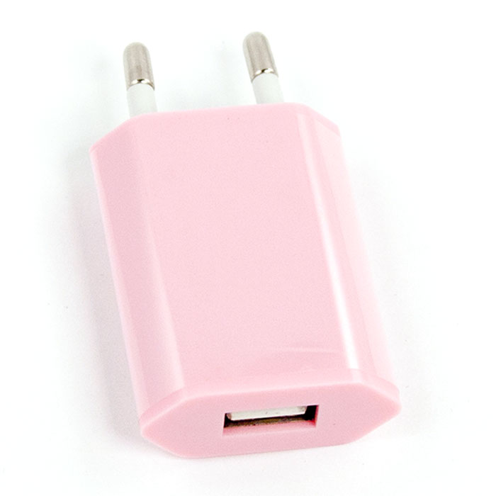 Liberty Project зарядное устройство R0003922 1А, Pink зарядное устройство liberty project usb 1а sm000123 yellow
