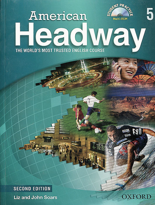 American Headway: Student Book 5: Level C1 (+ CD-ROM) oxford phonics world 2 student book 2 cd rom